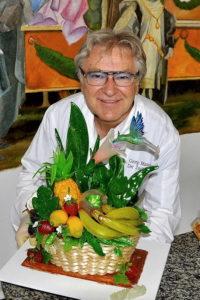 GEORG MAUSHAGEN in seinem Atelier